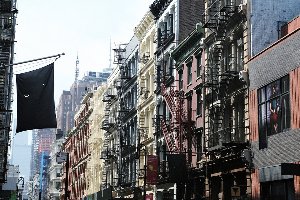 A scenery from Soho ready to welcome you to your new home.