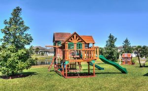Buy a family house with big back yard where your kids can play