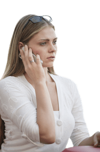 Unprofessional phone communication – the sign of fraudulent mover