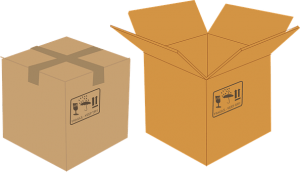 Before the move try to find used but sturdy cardboard boxes