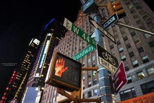 One way streets in NYC