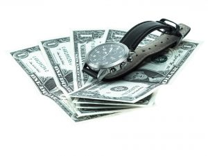 Money and a watch
