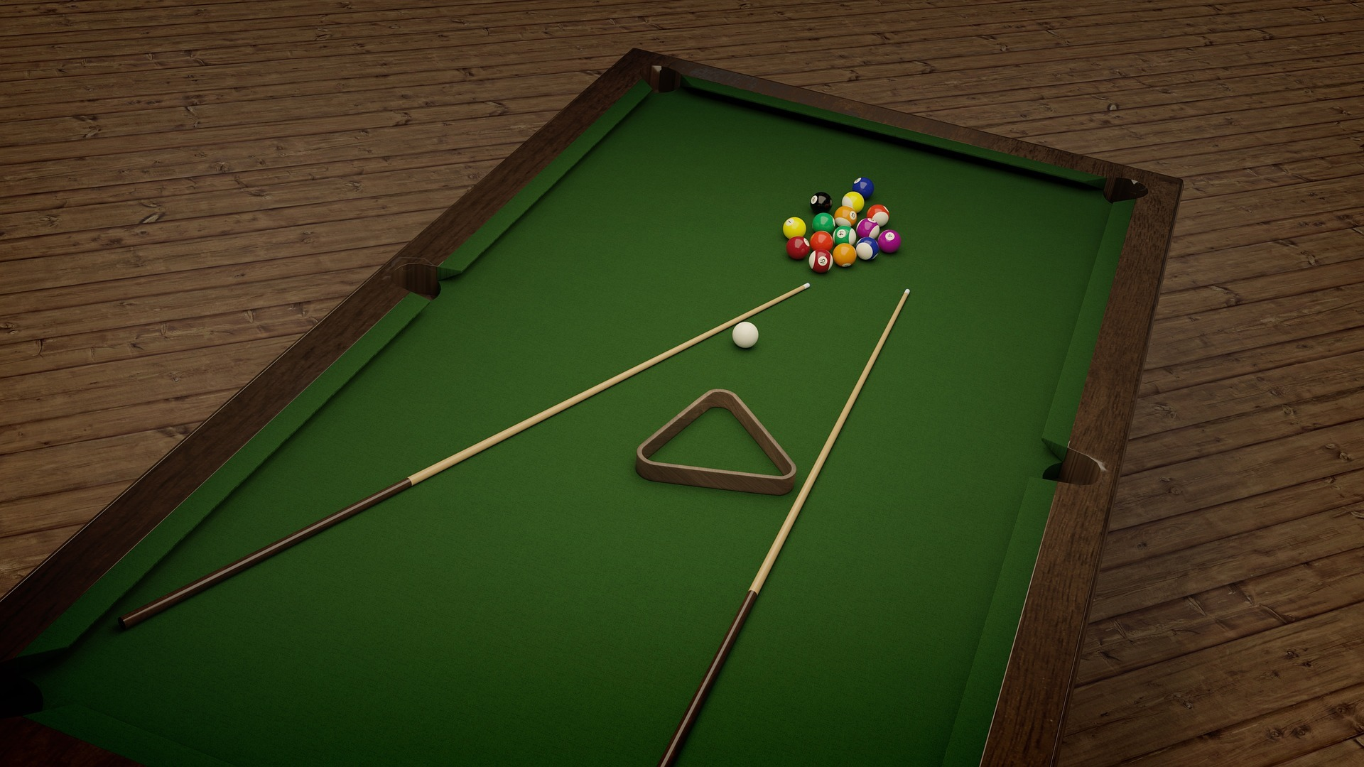 Moving a pool table
