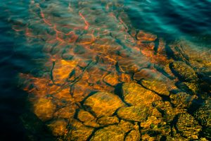 The stones in clear water. Hear out some co-friendly packing tips.