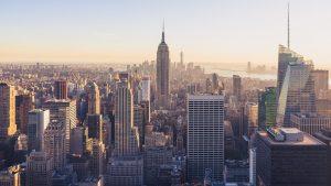 Best ways to commute in Manhattan, Manhattan skyline captured.