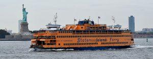 a Staten Island ferry