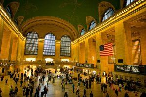 Best ways to commute in Manhattan. NYC Grand Station interior.