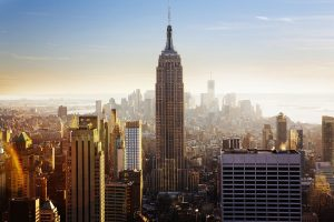 New York Skyline in the morning