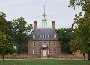 the governor's palace in Williamsburg