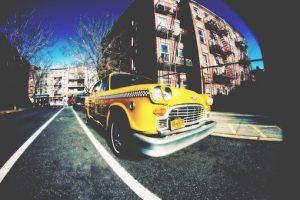 Taxi in Brooklyn Heights