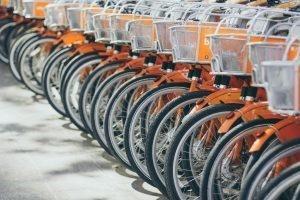 Cycling is very popular in Bushwick