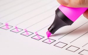 Make a checklist before you start spring cleaning
