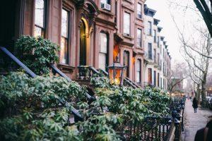 brownstone homes in Brooklyn