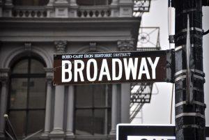 A Broadway street