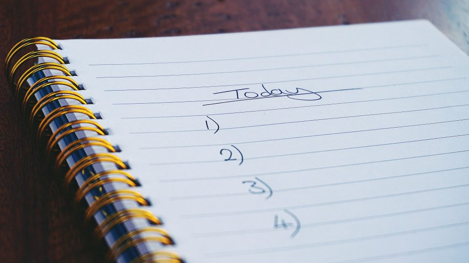 Moving day checklist to prepare