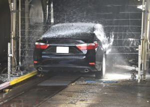Car wash - clean the car before storing vehicles long-term