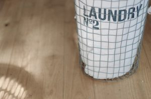 Laundry basket - If you want to clean your house in a day, start with laundry