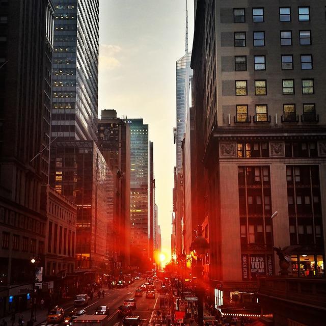 -Manhattan sunset