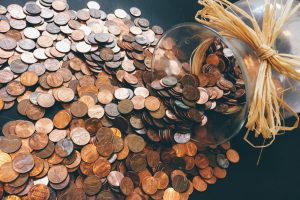 Picture of a jar with coins