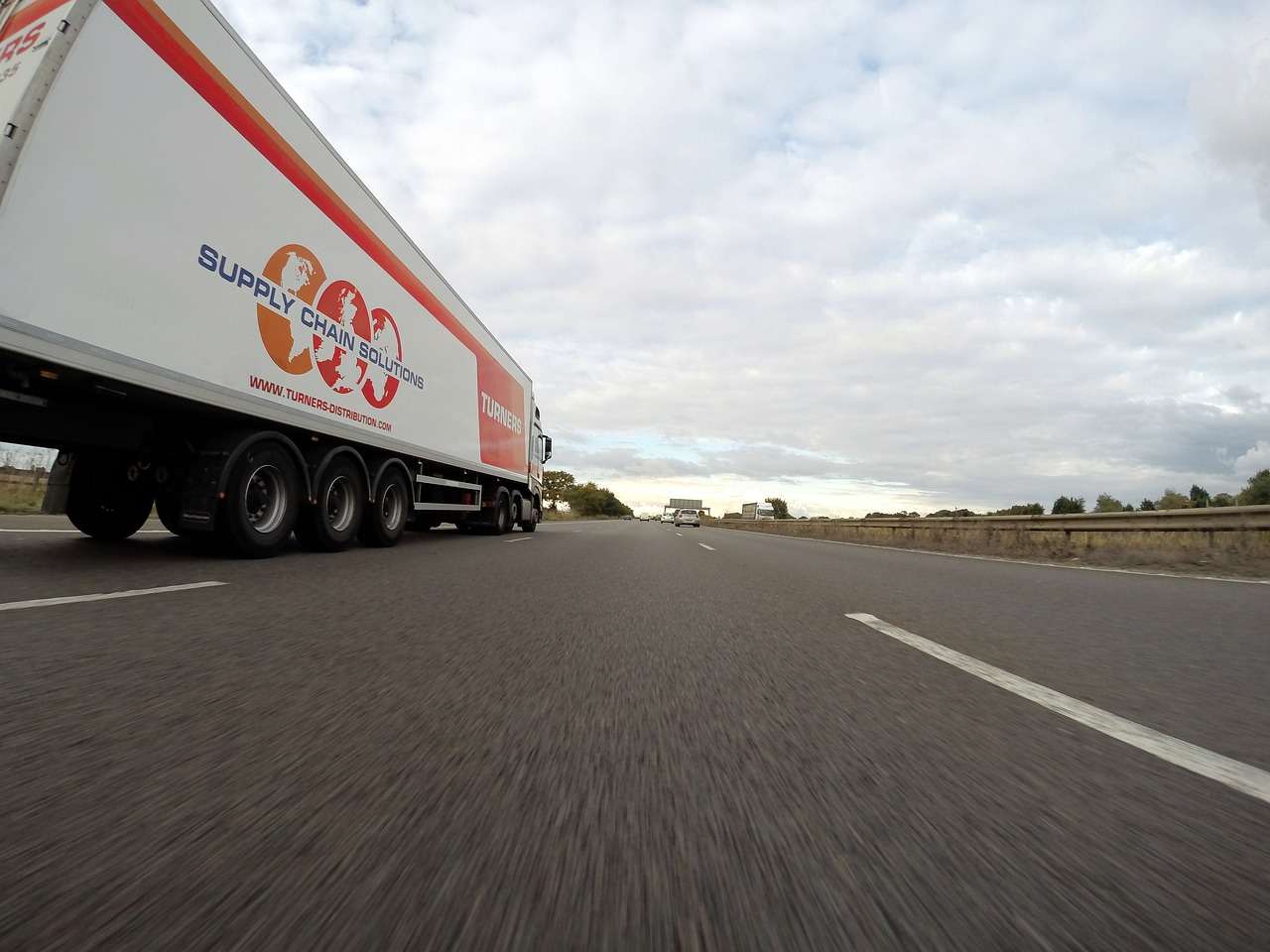 A truck on the road - here's how to load a moving truck