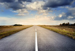 Elizabeth movers on an open road