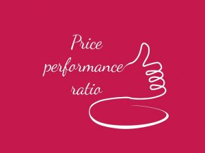 Price performance ratio