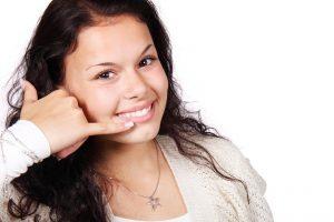 a girl calling Passaic movers