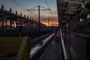 Hoboken transit terminal