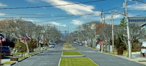 A street in Rockaway